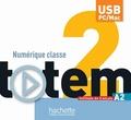 Jean-Thierry Le Bougnec et Marie-José Lopes - Totem 2 Niveau A2 - Clé USB Manuel numérique interacrif pour l'enseignant.