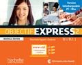 Hachette FLE - Objectif Express 2 - Manuel numérique, carte de téléchargement enseignant.