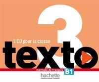 Marie-José Lopes et Bougnec jean-thierry Le - Texto 3 : CD audio classe (x3).