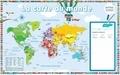 Nicolas Francescon - Poster la carte du monde.