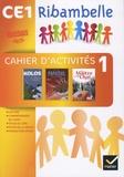Jean-Pierre Demeulemeester - Ribambelle CE1 série jaune - Cahier d'activités 1 + Livret d'entraînement à la lecture.