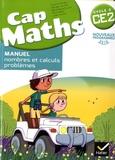 Roland Charnay et Georges Combier - Pack Mathématiques Cycle 2 CE2 Cap Maths - Manuel, nombres et calculs - problèmes ; Le Dico-Maths - Répertoire des mathématiques ; Cahier, grandeurs et mesures - espace et géométrie.