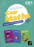 Roland Charnay et Georges Combier - Mathématiques CE1 Cap Maths - Cahier de Géométrie + Fiches d'entraîment.