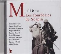 Molière et Georges Hacquard - Les fourberies de Scapin. 2 CD audio