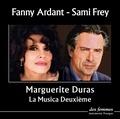 Marguerite Duras et Fanny Ardant - La Musica Deuxième - CD audio.