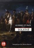 Léon Tolstoï - Guerre et paix - Livre 1. 1 CD audio MP3