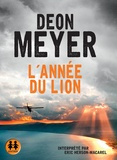Deon Meyer - L'année du lion. 2 CD audio MP3