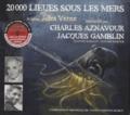 Jules Verne - 20 000 lieues sous les mers. 1 CD audio