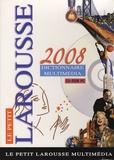 Larousse - Le Petit Larousse 2008 Dictionnaire multimedia - CD ROM.