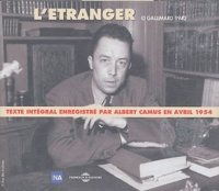 Albert Camus - L'étranger. 3 CD audio