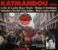 François Jouffa - Katmandou 1969 - 2 CD audio.