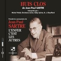 Jean-Paul Sartre et Michel Vitold - Huis clos.