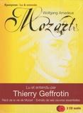 Thierry Geffrotin - Wolfgang Amadeus Mozart - 2 CD audio.
