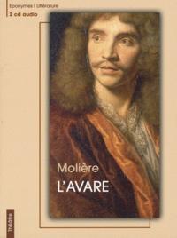 Molière - L'Avare. 2 CD audio