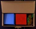 Celda - Cubes base 10 encastrables en couleurs.