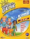 Collectif - Graines de génie 5ème - CD-ROM.