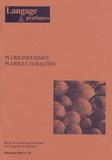 Laurent Gajo - Langage & pratiques N° 28, Décembre 2001 : Plurilinguismes, pluriculturalités.