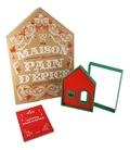 Hachette Pratique - Coffret ma maison en pain d'épice - Contient : 1 livre de recettes et 4 emporte-pièce pour réaliser vos maisons à croquer.