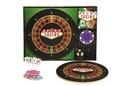 Hachette Pratique - Coffret Apéro Casino - Apéro casino avec 1 plateau tournant en bois, 8 sous-verres, 25 piques apéro.