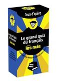 Gilles Guilleron - Le grand quiz du français pour les nuls - Jeux d'apéro.