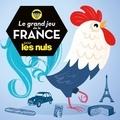 Roc - Le grand jeu de la France pour les nuls - Avec 1 plateau de jeu, 300 cartes, 6 pions et 1 dé.