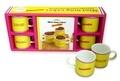 Garlone Bardel - Mini mug cakes Carambar - Coffret livre + 4 mini mug.