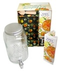 Jessie Kanelos Weiner - La fontaine à punch - Contient : 1 livre de recettes de punchs aux fruits, 1 fontaine à punch, 1 presse agrume.