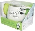 Amandip Uppal et Fern Green - Coffret Mon panda latte avec plein d'amour dedans - Matcha latte & cie. Avec un mug panda.