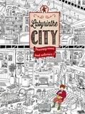 Hiro Kamigaki et  IC4Design - Labyrinthe City - Pourrez-vous tout colorier ?.
