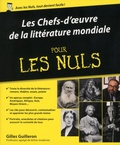 Gilles Guilleron - Les Chefs-d'oeuvre de la littérature mondiale pour les Nuls.