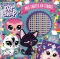 Eugénie Varone et  Hasbro - Mes cartes en strass Littlest Pet Shop - 550 strass et 6 cartes.
