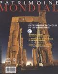 Francesco Bandarin - Patrimoine Mondial N° 54 : Patrimoine mondial et astronomie.