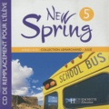 Hachette Education - Anglais New Spring 5e LV1. 1 CD audio