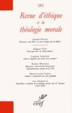 Laurent Lemoine - Revue d'éthique et de théologie morale N° 282, décembre 201 : .