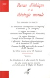 Jean-François Colosimo - Revue d'éthique et de théologie morale N° 300, décembre 201 : Les normes en procès.
