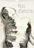 K.a. Lumi - CALVENDO Art  : Nus d'encre (Calendrier mural 2021 DIN A4 vertical) - Série de nus féminins à l'encre de Chine (Calendrier mensuel, 14 Pages ).
