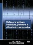 Eric Cahuzac et Christophe Bontemps - Stata par la pratique : statistiques, graphiques et éléments de programmation.