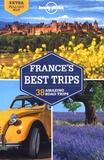 Jean-Bernard Carillet et Alexis Averbuck - France's best trips - 38 amazing road trips. 1 Plan détachable
