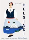 Herb Lester - Destination Helsinki. 1 Plan détachable