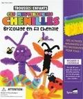 SpiceBox - Ces merveilleuses chenilles - Coffret bricolage en fil chenille.