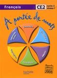 Janine Leclec'h et Jean-Claude Lucas - Français CE2 A portée de mots.