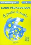 Janine Leclec'h-Lucas et Jean-Claude Lucas - Mathématiques CE2 A portée de maths - Guide pédagogique.