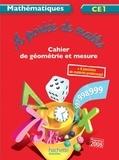 Laurence Meunier et Jean-Claude Lucas - Mathématiques CE1 A portée de maths - Cahier d'exercices.