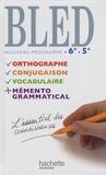 Daniel Berlion - Bled 6e 5e - Nouveau programme.