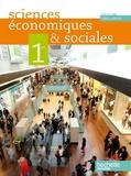Jean-Paul Lebel et Adeline Richet - Sciences économiques & sociales 1re ES - Livre élève Grand Format.