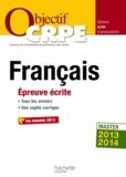 Véronique Bourhis et Stéphane Lelièvre - Français - Epreuve écrite d'admissibilité.