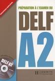 Nathalie Hirschsprung et Alexandre Holle - Préparation à l'examen du DELF A2. 1 CD audio