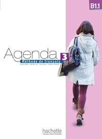 Murielle Bidault et Gabrielle Chort - Agenda 3 B1.1 - Méthode de français. 1 DVD