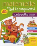 Caroline Marcel - Tout le programme toute petite section - 2-3 ans.