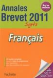 Brigitte Réauté et Michèle Laskar - Français Brevet - Sujets.